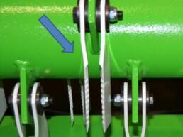 Luftjet-Häckslermesser Strohmanagement Agribroker
